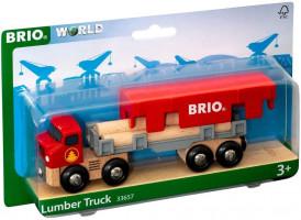 Brio – Ťahač s drevom