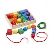 Melissa & Doug - Výuková hračka - navlékání pro nejmenší