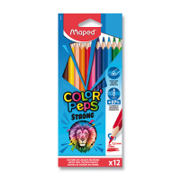 Pastelky Maped Color'Peps Strong - 12 farieb
