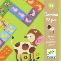 Domino – Zvieratká zo statku
