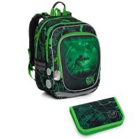 Školní batoh a penál Topgal ENDY 20014 B