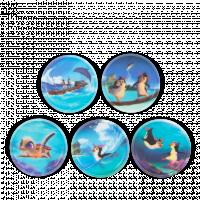 Ergobag Kletties - set tropičtí přátelé