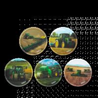 Ergobag Kletties - set zemědělské stroje