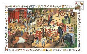 Puzzle – konská jazdiareň – 200 ks
