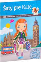 Šaty pre Kate – kniha samolepiek