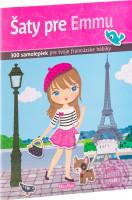 Šaty pre Emmu – kniha samolepiek