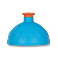 Náhradné viečko na Zdravú fľašu, modrá/oranžová