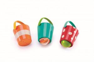 Veselé kbelíky - hračka do vody