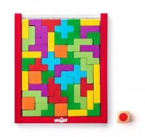 Hra s kostkou - barevný hlavolam