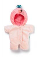 Lilliputiens - růžový overal pro panenky - plameňák Anais