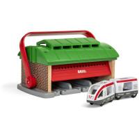 Brio - Přenosné vlakové depo