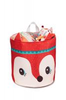 Lilliputiens - košík na hračky - liška Alice