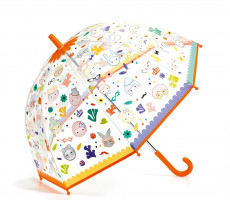 Dětský deštník s magickou barvou - tváře