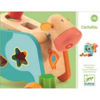 Vkládačka kravička Maggy - tvary a barvy