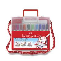 Sada popisovačů Faber-Castell Slim Whiteboard Marker v kufříku