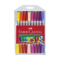 Detské fixky Faber-Castell - 20 farieb