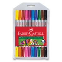 Dětské fixy Faber-Castell - 10 barev