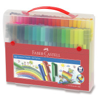 Dětské fixy Faber-Castell Connector taška - 80 barev