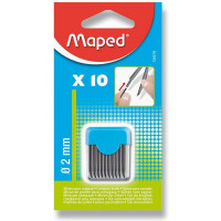 Náhradní tuhy do kružítka Maped - 10 ks v balení