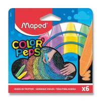 Kriedy na chodník Maped - 6 farieb