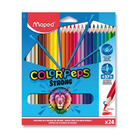 Pastelky Maped Color'Peps Strong - 24 farieb