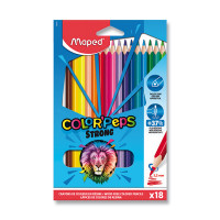 Pastelky Maped Color'Peps Strong - 18 barev