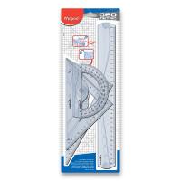 Maped Geometric Maxi - 4dílná sada pravítek