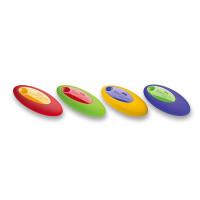 Guma Faber-Castell Oval - mix farieb