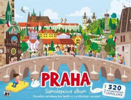 Samolepkové album - Praha