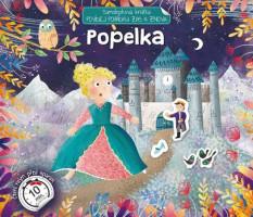 Popelka - povídej pohádku zas a znova - samolepková knížka
