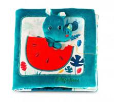 Lilliputiens - nosorožec Marius hledá tatínka - textilní knížka