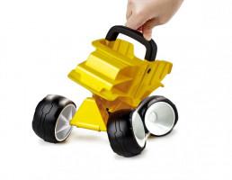Bugina žlutá - hračka na písek