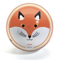 Míč - Medvěd a liška - 22 cm
