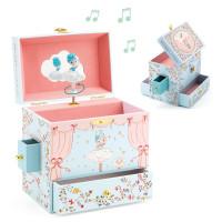 Hrací skříňka - Baletka na scéně