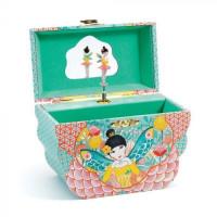 Hrací skříňka - Květinová víla