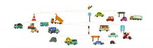Závěsný kolotoč - Dopravní prostředky