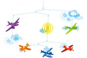Závěsný kolotoč - Letadla