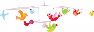 Závěsný kolotoč - Ptáčci