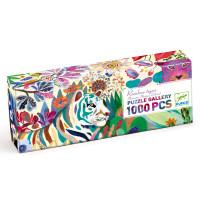 Puzzle - Duhový tygr - 1000 ks
