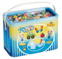 Hama Maxi koráliky v boxe - mix farieb - 3 000 ks