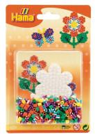 Hama Midi - Korálkový set - květina - 350 ks
