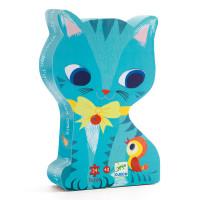 Puzzle - Hravá koťátka - 24 dílků