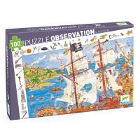 Puzzle - Piráti - 100 ks