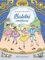 Baletní představení -  samolepková knížka