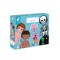 Vzdělávací puzzle - Lidské tělo - 50, 75, 100 ks