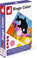 Bingo - učíme se barvy