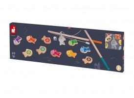 Magnetická hra - pojďme rybařit