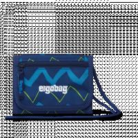 Peňaženka Ergobag - blue zig zag