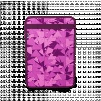 Pořadač Satch Box - fialový