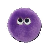 Ergobag Kletties - fialový plyš